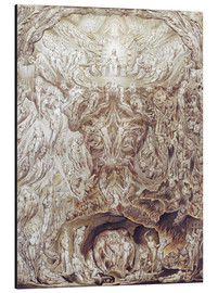 Aluminium print  Last Judgement - William Blake