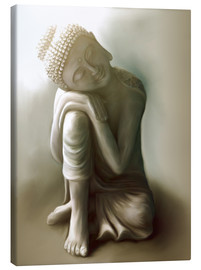 Canvas print  Buddha - Christine Ganz