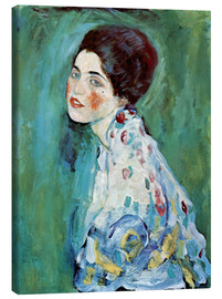 Canvas print  Portrait of a lady - Gustav Klimt