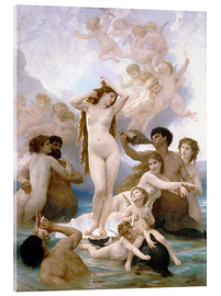 Acrylic glass  Birth of Venus - William Adolphe Bouguereau