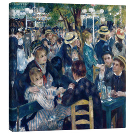 Canvas print  Dance at the Moulin de la Galette - Pierre-Auguste Renoir