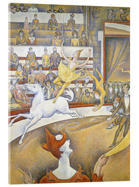 Acrylic glass  Le cirque - Georges Seurat