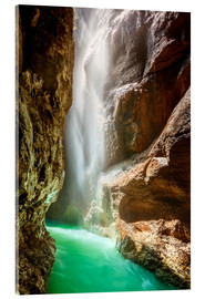 Acrylic print  Liquid Light - Michael Breitung