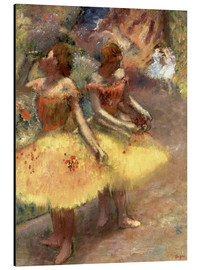 Aluminium print  Two dancers - Edgar Degas