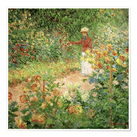 Premium poster Monet's Garden in Giverny