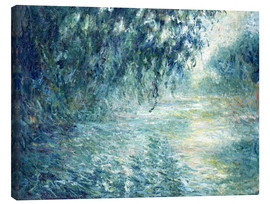 Canvas print  Morning on the Seine - Claude Monet
