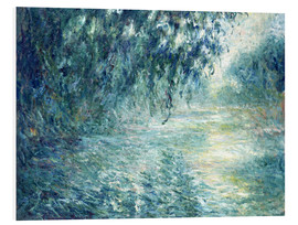 Foam board print  Morning on the Seine - Claude Monet