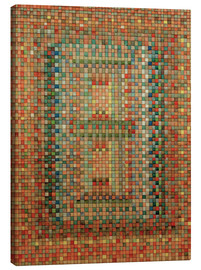 Canvas  Portal of a Mosque - Paul Klee