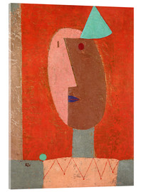 Acrylic print  Clown - Paul Klee