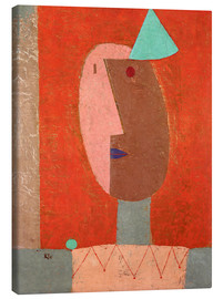 Canvas print  Clown - Paul Klee