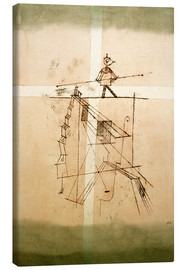 Canvas print  Tightrope walker - Paul Klee