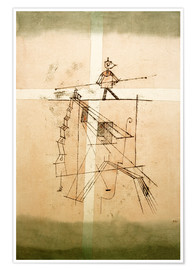 Premium poster  Tightrope walker - Paul Klee