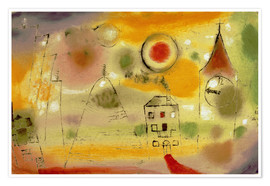 Poster  Winter Day Just Before Noon - Paul Klee