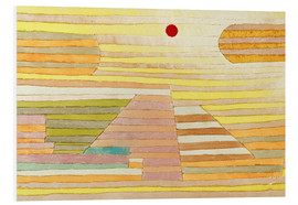 Foam board print  Evening in Egypt - Paul Klee