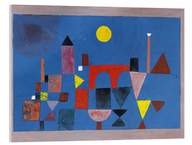 Acrylic glass  Red Bridge - Paul Klee