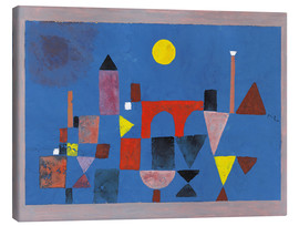 Canvas print  Red Bridge - Paul Klee