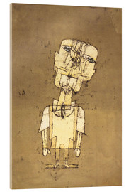 Acrylic glass  Ghost of a Genius - Paul Klee