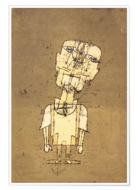 Premium poster  Ghost of a Genius - Paul Klee