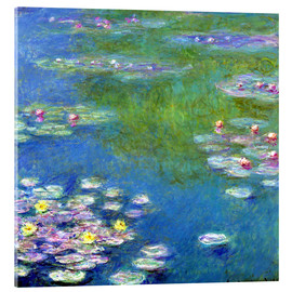 Acrylic glass  Nymphéas - Claude Monet