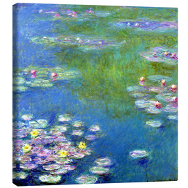 Canvas  Nymphéas - Claude Monet