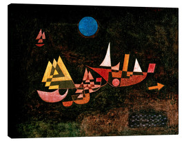 Canvas  Ships setting Sail - Paul Klee