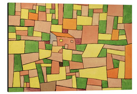 Aluminium print  Country House of Thomas R. - Paul Klee