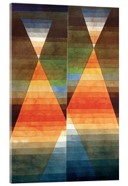 Acrylic glass  Double Tent - Paul Klee