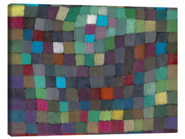 Canvas print  Abstract in Relation ...Tree - Paul Klee
