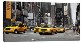 Canvas print  New York City -Yellow Cabs - Hannes Cmarits
