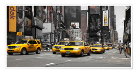 Premium poster  New York City -Yellow Cabs - Hannes Cmarits