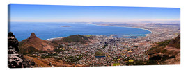 Canvas print  Cape Town panoramic view - HADYPHOTO