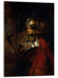 Acrylic print  Alexander the Great - Rembrandt van Rijn