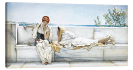 Canvas print  A Question - Lawrence Alma-Tadema