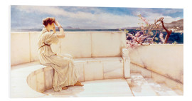 Foam board print  Expectations - Lawrence Alma-Tadema