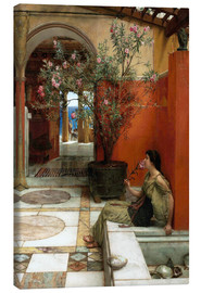 Canvas print  The Oleander - Lawrence Alma-Tadema