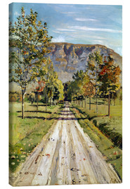 Canvas  Road to Evordes - Ferdinand Hodler