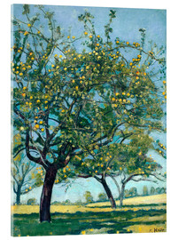 Ferdinand Hodler - Paddock with apple trees