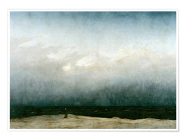 Poster  Monk by the Sea - Caspar David Friedrich