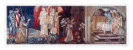 Premium poster  Tapestry, 1890. - Edward Burne-Jones