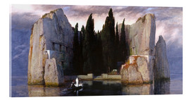 Acrylic glass  Island of the Dead - Arnold Böcklin