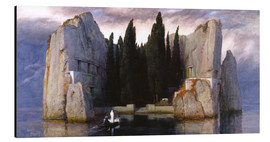 Alu-Dibond  Island of the Dead - Arnold Böcklin