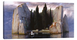 Canvas  Island of the Dead - Arnold Böcklin
