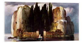 Acrylic print  The Isle of the Dead - Arnold Böcklin