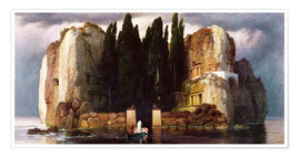 Premium poster  The Isle of the Dead - Arnold Böcklin