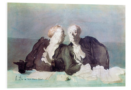 Foam board print  The Decisive Argument - Honoré Daumier