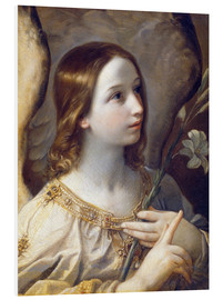 Foam board print  Archangel Gabriel - Guido Reni