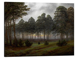 Aluminium print  Evening - Caspar David Friedrich