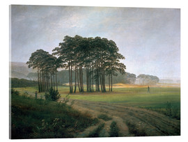 Acrylic print  The Midday - Caspar David Friedrich