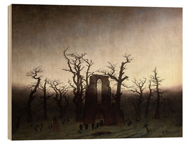 Wood  The Abbey in the Oakwood - Caspar David Friedrich