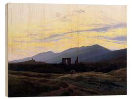 Wood  Eldena Ruin - Caspar David Friedrich